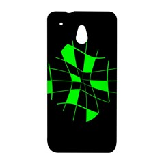Green abstract flower HTC One Mini (601e) M4 Hardshell Case