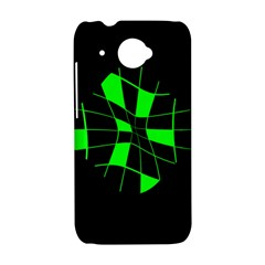 Green abstract flower HTC Desire 601 Hardshell Case