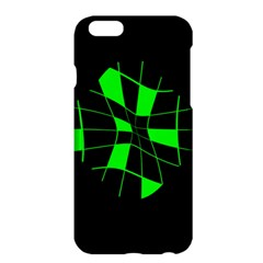 Green abstract flower Apple iPhone 6 Plus/6S Plus Hardshell Case