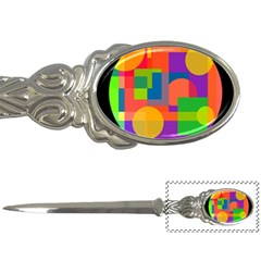 Colorful circle  Letter Openers