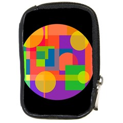 Colorful circle  Compact Camera Cases