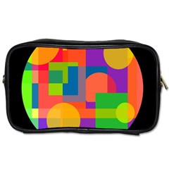 Colorful circle  Toiletries Bags
