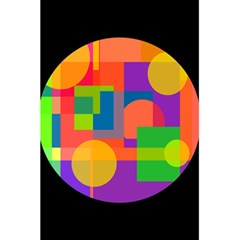 Colorful circle  5.5  x 8.5  Notebooks