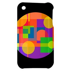 Colorful circle  Apple iPhone 3G/3GS Hardshell Case