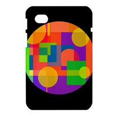 Colorful circle  Samsung Galaxy Tab 7  P1000 Hardshell Case