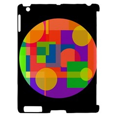 Colorful circle  Apple iPad 2 Hardshell Case (Compatible with Smart Cover)