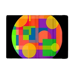 Colorful circle  Apple iPad Mini Flip Case