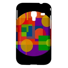 Colorful circle  Samsung Galaxy Ace Plus S7500 Hardshell Case