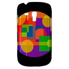 Colorful circle  Samsung Galaxy S3 MINI I8190 Hardshell Case