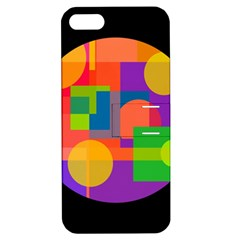 Colorful Circle  Apple Iphone 5 Hardshell Case With Stand