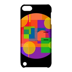 Colorful circle  Apple iPod Touch 5 Hardshell Case with Stand