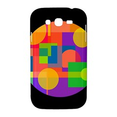 Colorful circle  Samsung Galaxy Grand DUOS I9082 Hardshell Case
