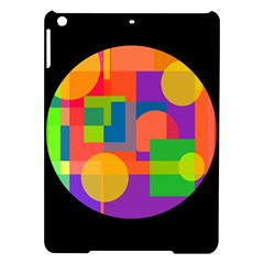 Colorful circle  iPad Air Hardshell Cases