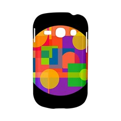 Colorful circle  Samsung Galaxy S6810 Hardshell Case