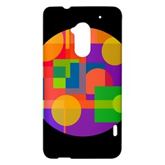 Colorful circle  HTC One Max (T6) Hardshell Case