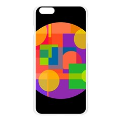 Colorful circle  Apple Seamless iPhone 6 Plus/6S Plus Case (Transparent)