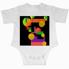 Colorful abstraction Infant Creepers