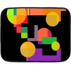 Colorful abstraction Fleece Blanket (Mini)