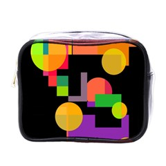 Colorful abstraction Mini Toiletries Bags