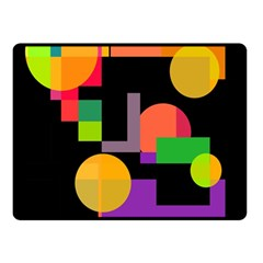 Colorful abstraction Fleece Blanket (Small)