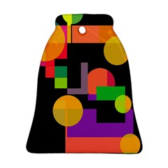 Colorful abstraction Ornament (Bell)