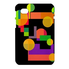 Colorful abstraction Samsung Galaxy Tab 7  P1000 Hardshell Case
