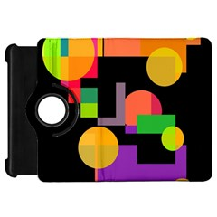 Colorful abstraction Kindle Fire HD Flip 360 Case