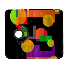 Colorful abstraction Samsung Galaxy S  III Flip 360 Case