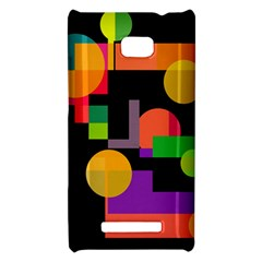 Colorful abstraction HTC 8X