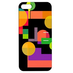 Colorful abstraction Apple iPhone 5 Hardshell Case with Stand