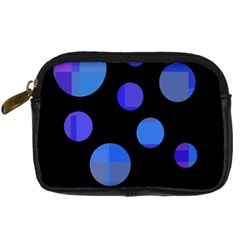 Blue circles  Digital Camera Cases