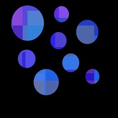 Blue circles  Magic Photo Cubes
