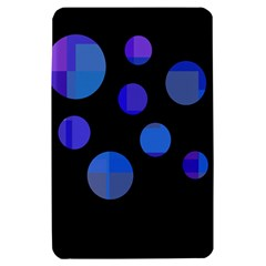 Blue circles  Kindle Fire (1st Gen) Hardshell Case