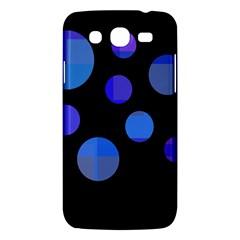 Blue circles  Samsung Galaxy Mega 5.8 I9152 Hardshell Case