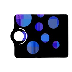 Blue circles  Kindle Fire HD (2013) Flip 360 Case