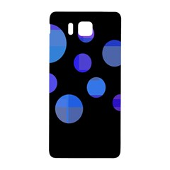 Blue circles  Samsung Galaxy Alpha Hardshell Back Case