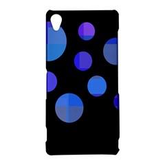 Blue circles  Sony Xperia Z3
