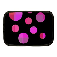 Pink abstraction Netbook Case (Medium)