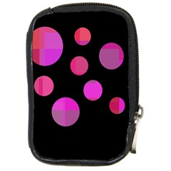 Pink abstraction Compact Camera Cases