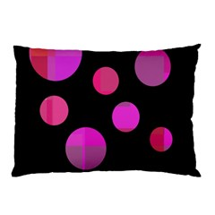 Pink abstraction Pillow Case (Two Sides)