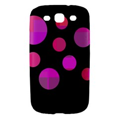 Pink abstraction Samsung Galaxy S III Hardshell Case