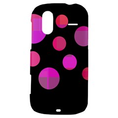 Pink abstraction HTC Amaze 4G Hardshell Case