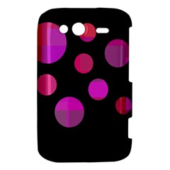 Pink abstraction HTC Wildfire S A510e Hardshell Case