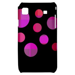 Pink abstraction Samsung Galaxy S i9000 Hardshell Case