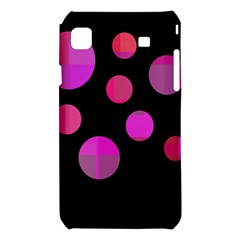 Pink abstraction Samsung Galaxy S i9008 Hardshell Case