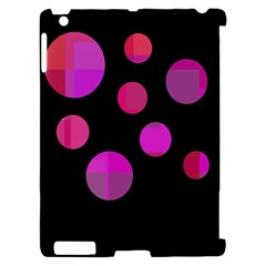 Pink abstraction Apple iPad 2 Hardshell Case (Compatible with Smart Cover)