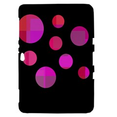 Pink abstraction Samsung Galaxy Tab 8.9  P7300 Hardshell Case