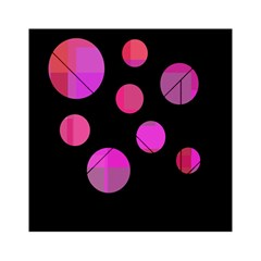 Pink abstraction Acrylic Tangram Puzzle (6  x 6 )