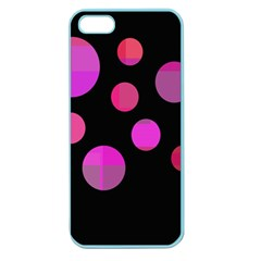 Pink abstraction Apple Seamless iPhone 5 Case (Color)
