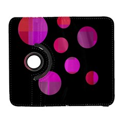 Pink abstraction Samsung Galaxy S  III Flip 360 Case